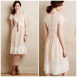 Moulinette soeurs size 6 poems lace dress